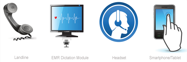 Dictation Methods for all Device Transcriptions